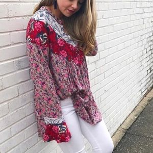 Free people tunic floral